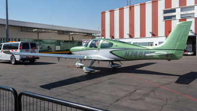 N748MM - Cirrus SR22T-GTS G6 Platinum - Cirrus Design Corporation