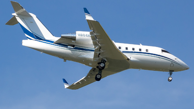 N604MH - Bombardier CL-600-2B16 Challenger 604 - Private