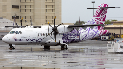 N801HC - ATR 42-500 - Ohana by Hawaiian (Empire Airlines)