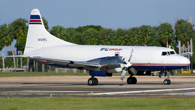 N131FL - Convair CV-580(F)(SCD) - IFL Group