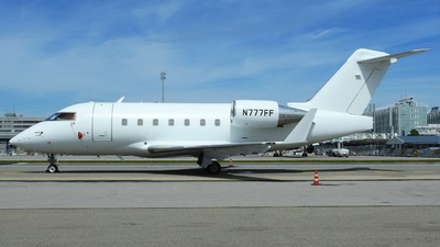 N777FF - Bombardier CL-600-2B16 Challenger 604 - Private