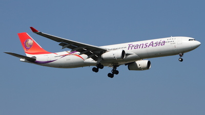 B-22101 - Airbus A330-343 - TransAsia Airways