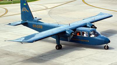 8R-GRB - Britten-Norman BN-2A-26 Islander - Roraima Airways
