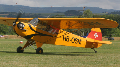 HB-OSM - Piper J-3C-65 Cub - Private