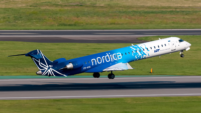 ES-ACG - Bombardier CRJ-900LR - LOT Polish Airlines (Nordica)