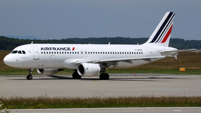 F-GKXM - Airbus A320-214 - Air France