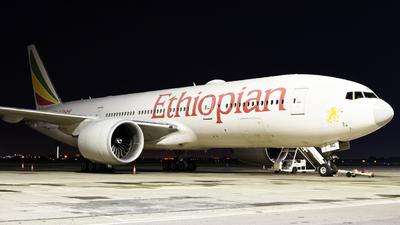 A picture of ETANO - Boeing 777260(LR) - Ethiopian Airlines - © ORTIASpotter