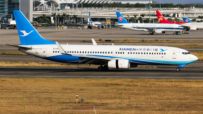 A picture of B5488 - Boeing 73785C - Xiamen Air - © Jackson Zheng