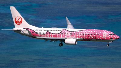 JA06RK - Boeing 737-8Q3 - Japan TransOcean Air (JTA)
