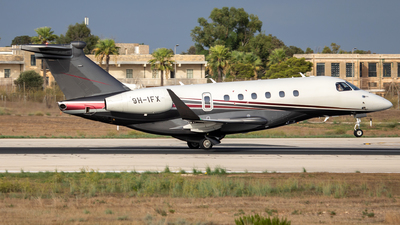 9H-IFX - Embraer EMB-550 Praetor 600 - Flexjet