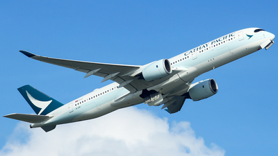 B-LRD - Airbus A350-941 - Cathay Pacific Airways