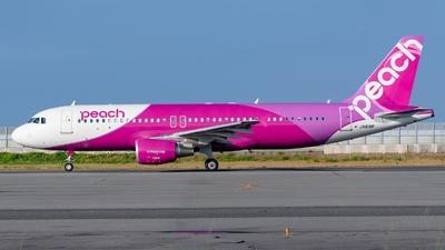 A picture of JA818P - Airbus A320214 - Peach - © S. Waki