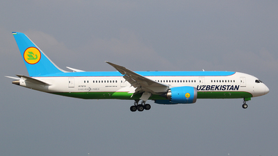 UK78701 - Boeing 787-8 Dreamliner - Uzbekistan Airways