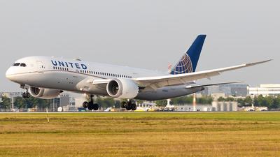 N29907 - Boeing 787-8 Dreamliner - United Airlines