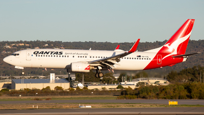 A picture of VHVXL - Boeing 737838 - Qantas - © Joel Baverstock
