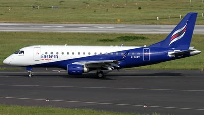 G-CIXV - Embraer 170-100LR - Eastern Airways