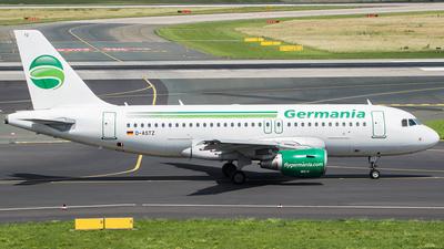 D-ASTZ - Airbus A319-112 - Germania
