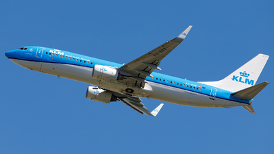 A picture of PHBXE - Boeing 7378K2 - KLM - © James Rowson
