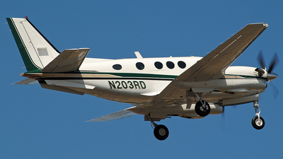 N203RD - Beechcraft E90 King Air - Private