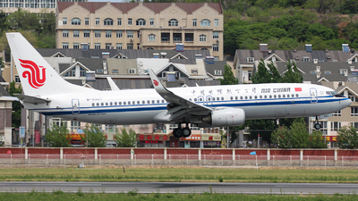 B-5507 - Boeing 737-89L - Air China