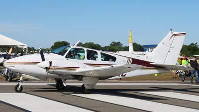 A picture of N514KC - Beech 95C55 Baron - [TE82] - © Orlando Suarez