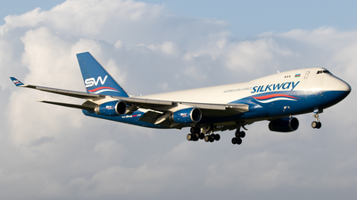 4K-SW008 - Boeing 747-4R7F(SCD) - Silk Way West Airlines