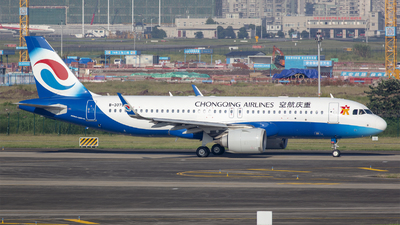 A picture of B307S - Airbus A320251N - Chongqing Airlines - © Eric Wang