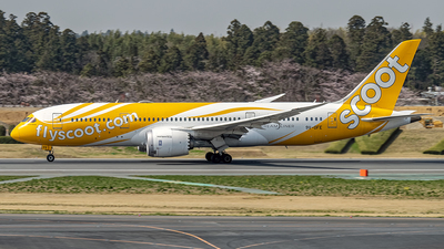 A picture of 9VOFE - Boeing 7878 Dreamliner - Scoot - © Cozy Goto