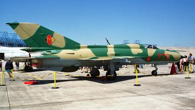 770 - Mikoyan-Gurevich MiG-21SPS Fishbed F - German Democratic Republic - Air Force