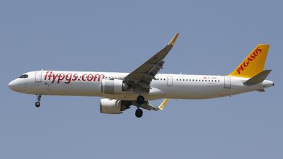 TC-RBD - Airbus A321-251NX - Pegasus Airlines