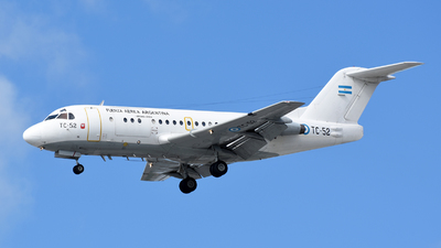 TC-52 - Fokker F28-1000C Fellowship - Argentina - Air Force