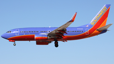 N740SW - Boeing 737-7H4 - Southwest Airlines