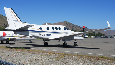 A picture of N247MD - Beech C90A King Air - [LJ1244] - © Michael Rodeback