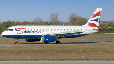 A picture of GEUUN - Airbus A320232 - British Airways - © zsoltiforgacs
