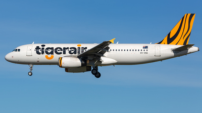 VH-VNG - Airbus A320-232 - Tigerair