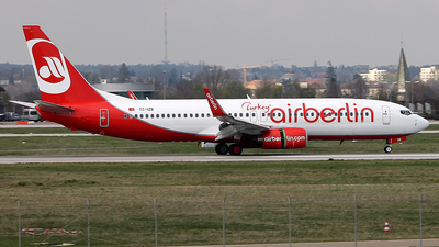 TC-IZB - Boeing 737-86J - Air Berlin Turkey