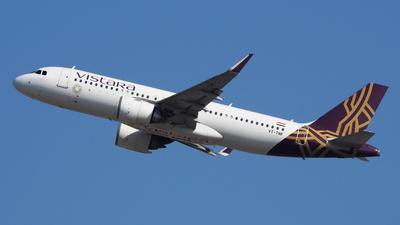 VT-TNF - Airbus A320-251N - Vistara