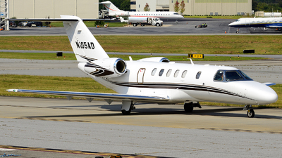 N105AD - Cessna 525C CitationJet 4 - Private