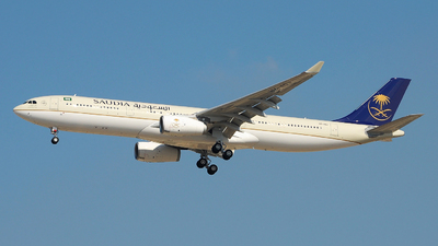 HZ-AQJ - Airbus A330-343 - Saudi Arabian Airlines