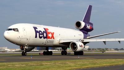 A picture of N318FE - McDonnell Douglas MD1030F - FedEx - © Andriy Yegorov