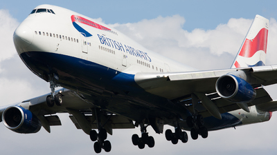 G-BNLO - Boeing 747-436 - British Airways