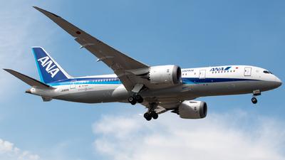 A picture of JA820A - Boeing 7878 Dreamliner - All Nippon Airways - © Juan Carlos Alvarez (MAS Aviation Press)
