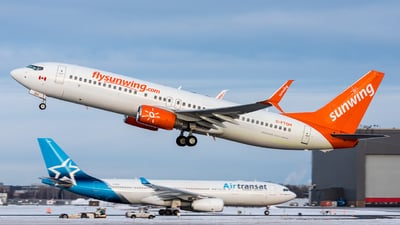 C-FTOH - Boeing 737-8HX - Sunwing Airlines