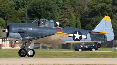 N7861B - North American SNJ-5 Texan - Private