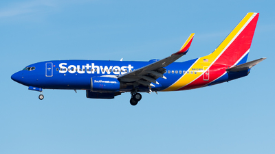 N410WN - Boeing 737-7H4 - Southwest Airlines