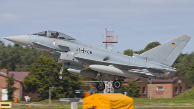 31-08 - Eurofighter Typhoon EF2000 - Germany - Air Force