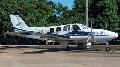 PR-CIC - Beechcraft G58 Baron - Brazil - Military Police