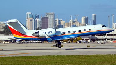 XA-JEY - Gulfstream G-IV(SP) - Private