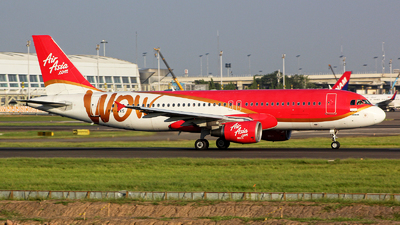 PK-AXS - Airbus A320-214 - Indonesia AirAsia