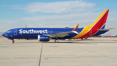 A picture of N8731J - Boeing 737 MAX 8 - Southwest Airlines - © R. Eikelenboom